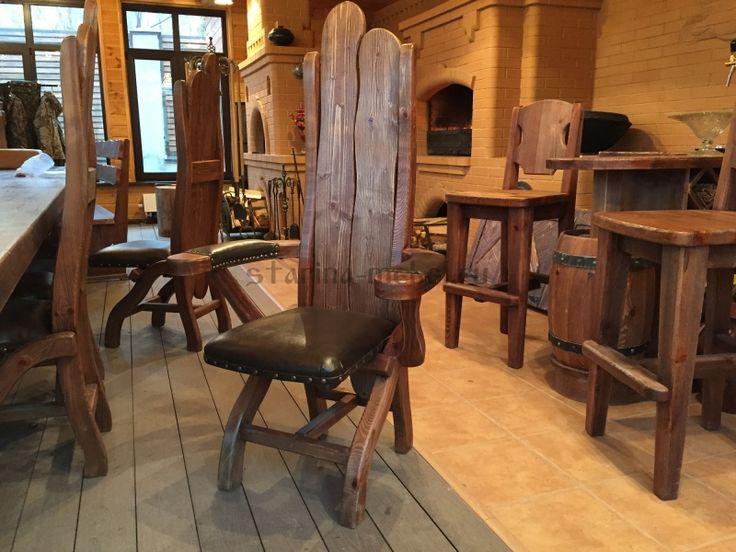 Дизайн и изготовление мебели под старину для беседки
