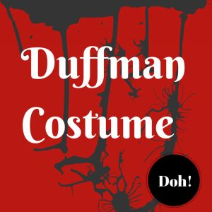 Duffman Simpsons Costume