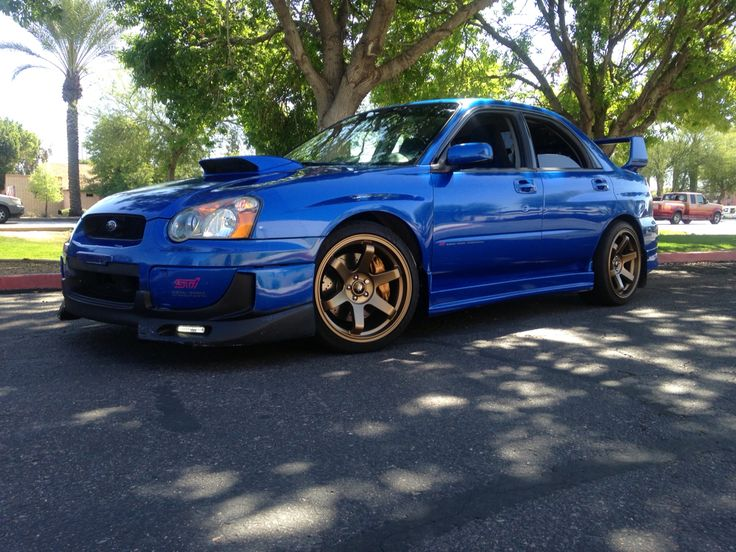 2004 Subaru Impreza wrx Sti.