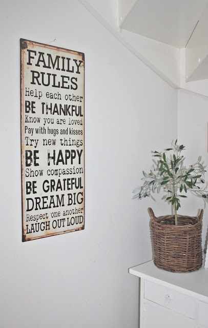 family rules in onze gang