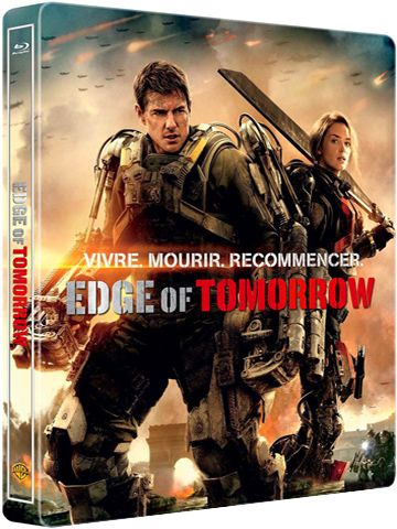 Edge Of Tomorrow Langue : French / Subtitle : French  Genre : Science - Fiction , Action  Duree : 1h 53mn  Taille : 6.58 GB  Qualite : 720p Bluray  Annee de Sortie : 2014  Soumis Par : Napster  Nom de la releaseNew : Edge.of.Tomorrow.2014.FRENCH.720p.BluRay.x264-Goatlove  Description : Dans un futur proche, des hordes d'extratterrestres ont livré une bataille acharnée contre la Terre et semblent désormais invincibles: