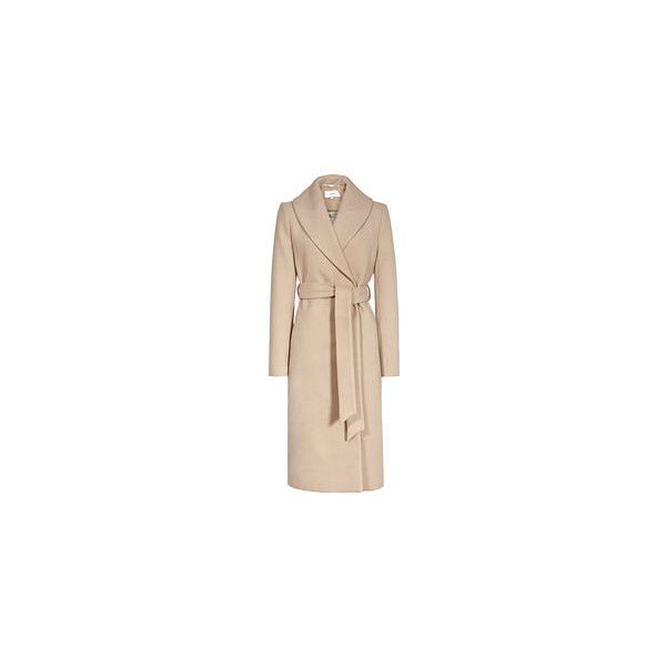 Coats & - Womens Winter Jackets & Coats - REISS ❤ liked on Polyvore featuring outerwear, coats, reiss coat, reiss and beige coat