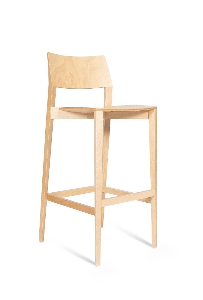 Pleasing Ligno Bar Stool Beech Timber Infinity Office Furniture Machost Co Dining Chair Design Ideas Machostcouk