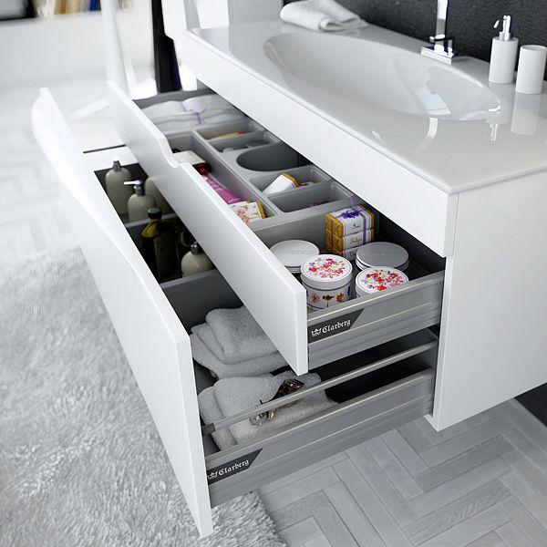 Мебель для ванной Clarberg Папирус Т12/W купить в магазине Сантехника-онлайн.Ру