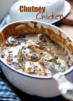 Easy Chutney Chicken Recipe #chicken #recipe