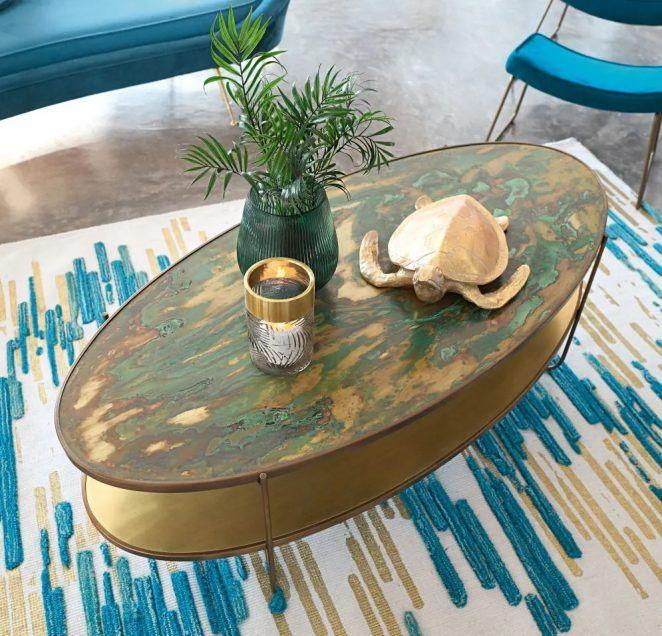 Catalogue Maisons Du Monde 27 Tendances Deco Printemps Ete 2020 Table Basse Ovale Decoration Table Basse Table Basse