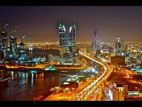 Manama, Bahrain - The most beautiful city in the world 2017 [4K] - YouTube