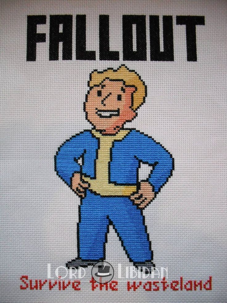 We get closer to fallout every day... #fallout #vaultboy #crossstitch @lordlibidan  https://lordlibidan.com/fallout-vault-boy-cross-stitch/pic.twitter.com/ndbYTicLIQ
