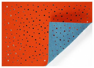 Liora Manne Madeline Fiesta Reversible Placemats, Set of 4 contemporary knives and chopping boards
