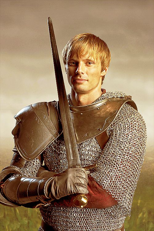 Bradley James as King Arthur on the BBC tv series Merlin. What is better than BBC