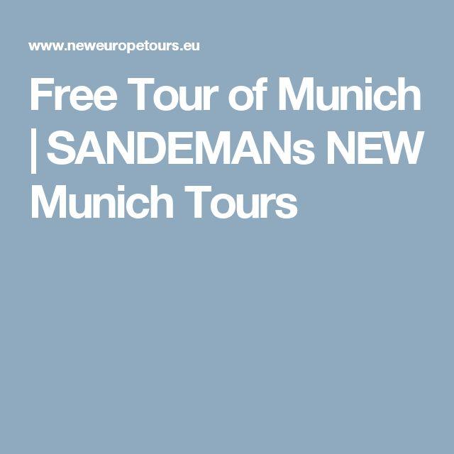 Free Tour of Munich | SANDEMANs NEW Munich Tours