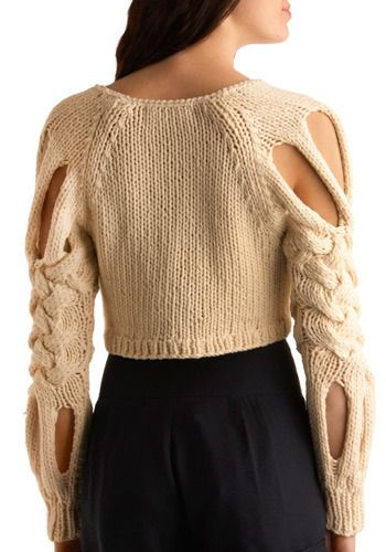 Braid New World Sweater   Mod Retro Vintage Sweaters   ModCloth.com