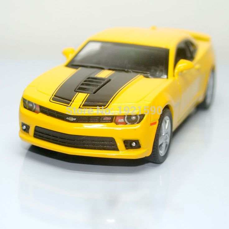 Brand New KT 1/38 Scale USA 2014 Chevrolet Camaro Diecast Metal Pull Back Car Model Toy For Collection/Gift/Kids/Decoration