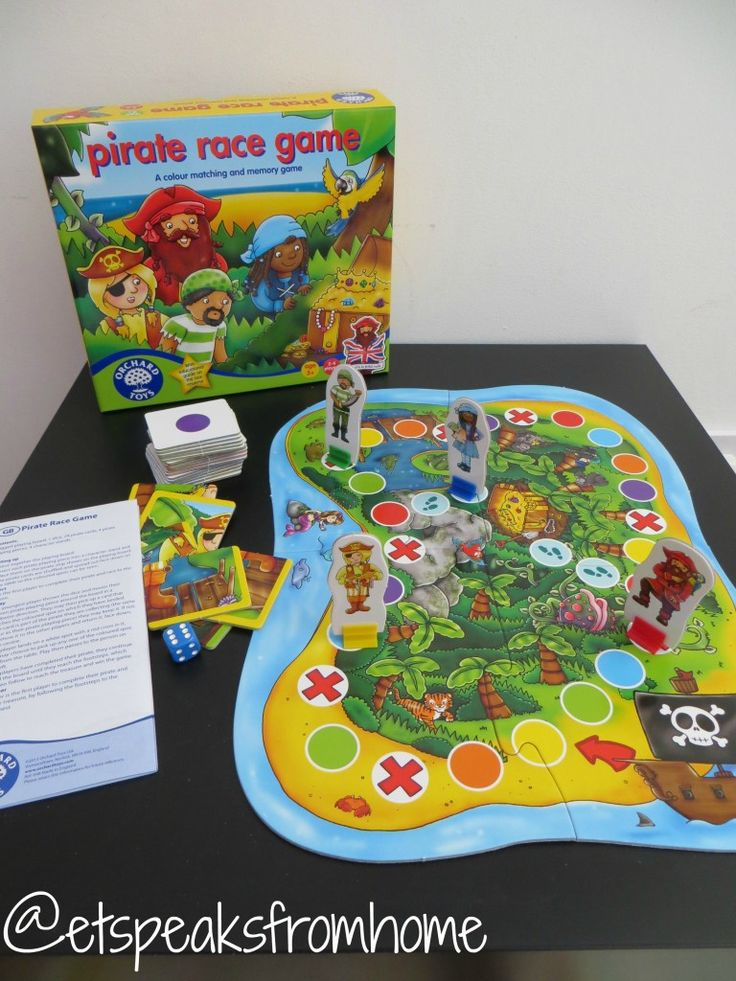 Orchard Toy Pirate Race Game Review - ET Speaks From Home
