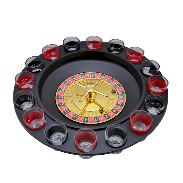 16 Shot Roulette Drinking Game [ROULDG] Drinking games
