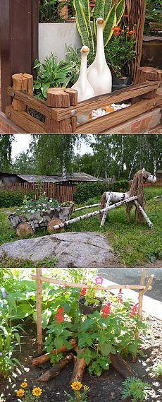 Ideas para Jardineros - camas pequeñas para el área de la decoración - 6 acres