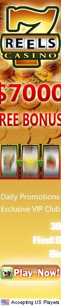 7Reels Casino Online Gambling $7000  Welcome Bonus