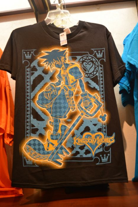 A look at some new merchandise around Epcot's World Showcase, including Kingdom Hearts shirts; Hello Kitty and Transformers! #disney #epcot #disneyworld