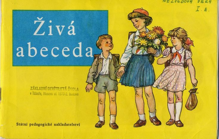 The pre ABC book.  Prague 1963. Illustrated by Antonín Pospíšil.