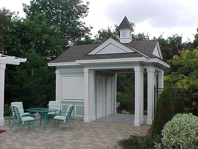 Pool house cabana designs poolside gazebo pool for Cabana bathroom ideas