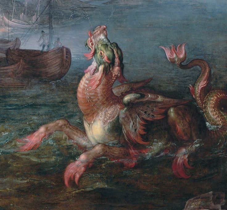 Joachim Wtewael - Perseus Releases Andromeda. Detail. 1611