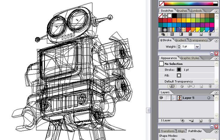 Lusky gradient mesh illustrations: Mesh Illustrations, Gradient Mesh, Lusky Gradient