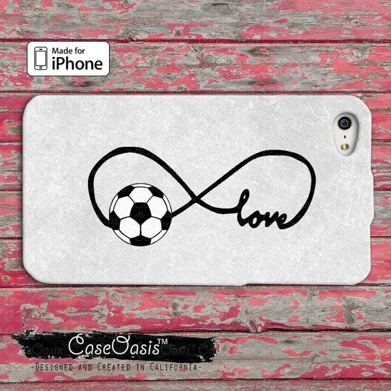 Soccer Love Infinity Symbol Tumblr Inspired Cute by CaseOasis, $14.99