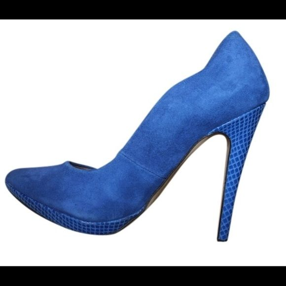 Miss Selfridge Blue Pumps These pumps are absolutely amazing. Very comfortable and stylish. They fit true to size. No trades!!! Miss Selfridge Shoes Heels