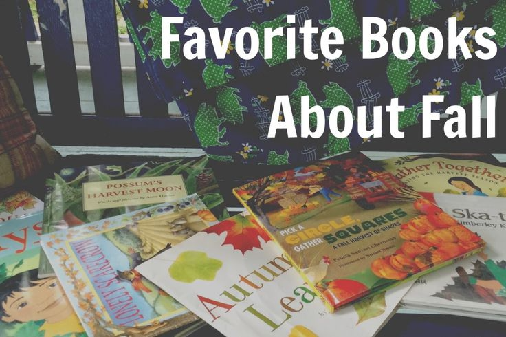 Books about Autumn for Kids: A list of stories all about the fall-time season that includes lesser known titles as well as tried and true familiar tales. Also, contains a list at the bottom of fall books for babies and toddlers.