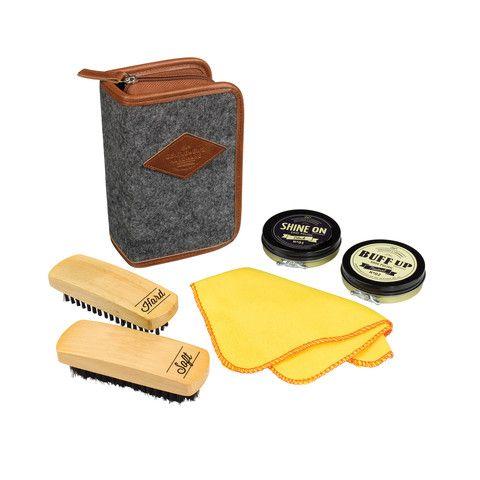 Gentlemen's Hardware Buff & Shine Shoe Polish Kit - Cadeaux.ie