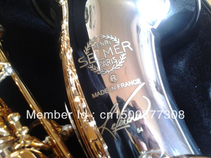 ==> [Free Shipping] Buy Best France Henry SELMER Reference 54 Tenor Saxophone Professional Instrument Music Drop B Adjustable Gold Plated Sax Online with LOWEST Price   872293827