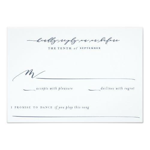 Garden Wedding Invitations Olive Branch Boho Garden Wedding Reply Card