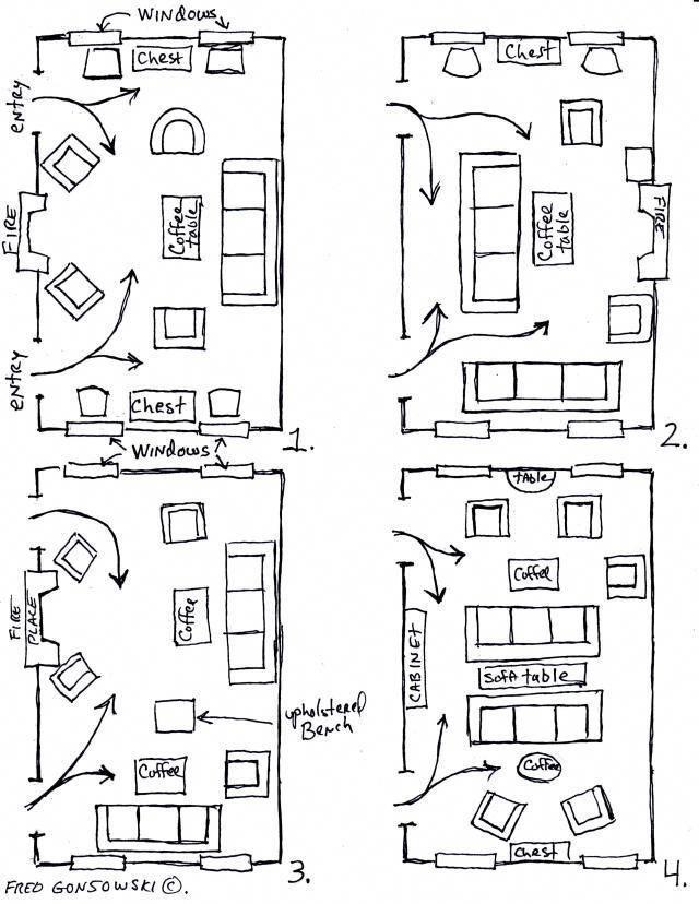 Long Narrow Living Room Layout Decorating Ideas Rectangular