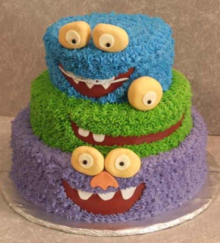 idées de gâteaux de monstres originaux qui plairont aux grands comme aux petits…