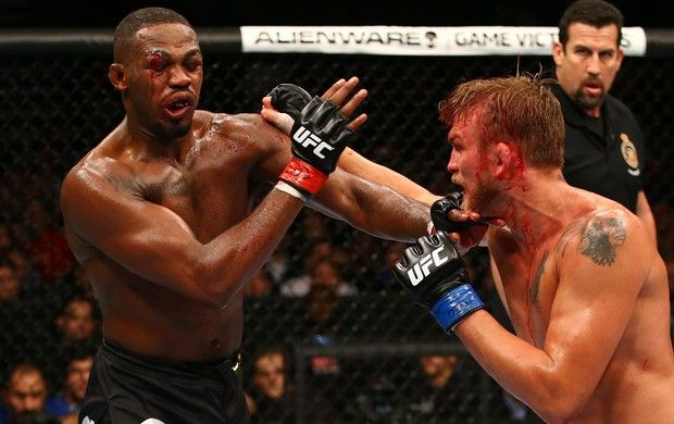 Jon Jones x Alexander Gustafsson MMA UFC (Foto: Getty Images)