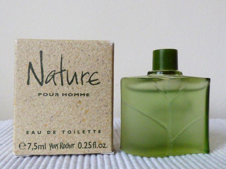 nature pour homme de yves rocher eau de toilette pour homme 7 5 ml avec bo 238 te miniatures de