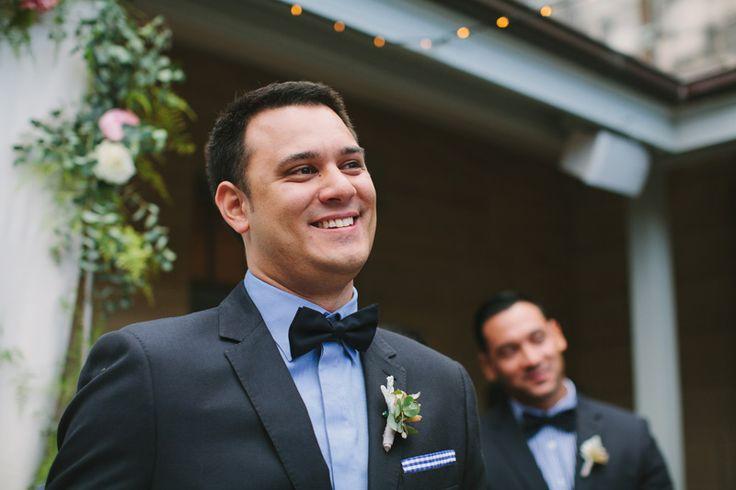 Groom first look SYDNEY, NEW SOUTH WALES {SYDNEY & BRISBANE WEDDING PHOTOGRAPHER}