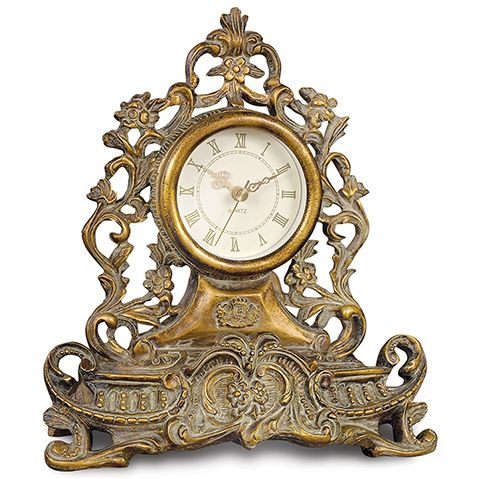 vintage dressing table clock