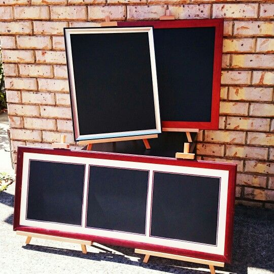 Our latest custom upcycled chalkboards...