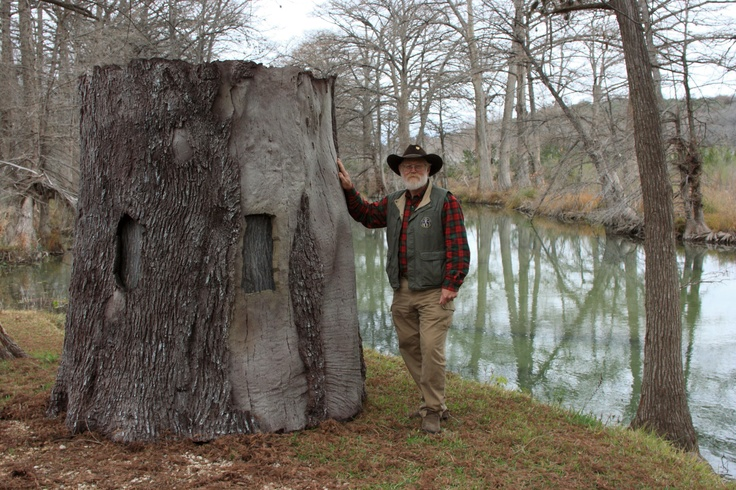 The Treeblind Tm Ground Blind Looks Just Like A Giant