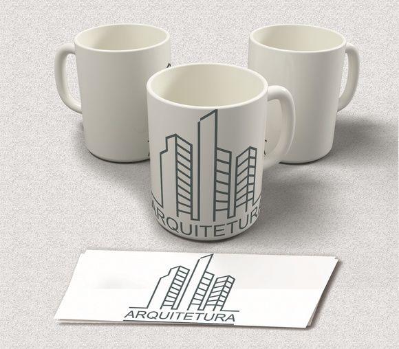 Canecas Profissões - Arquitetura