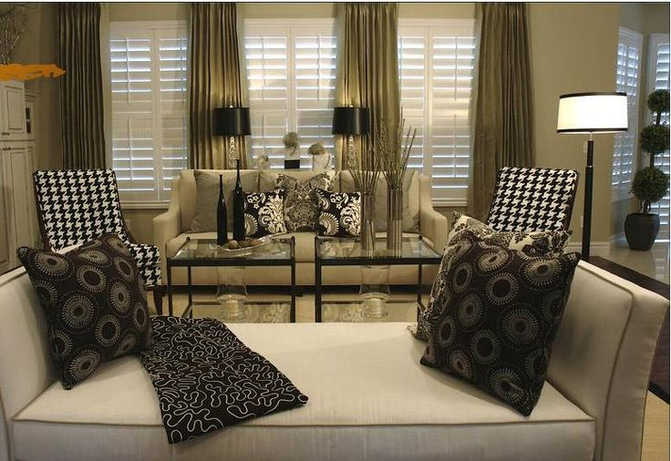 90 best images about beige black white design on for Green and beige living room ideas
