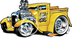 Muscle Machines Cartoon | 1929 Ford A Model Pickup Rohan Day
