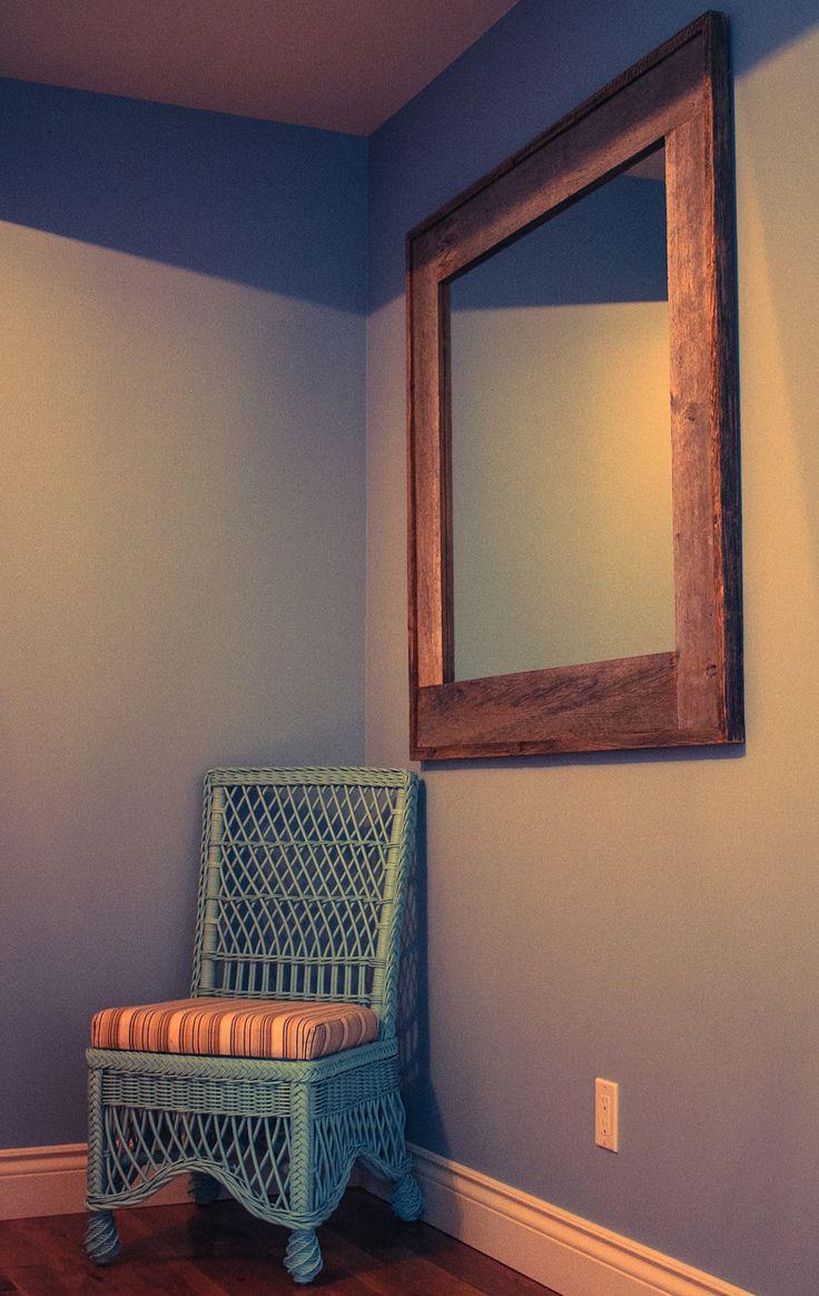 59 best images about id es pour la maison sur pinterest for Miroir bois de grange