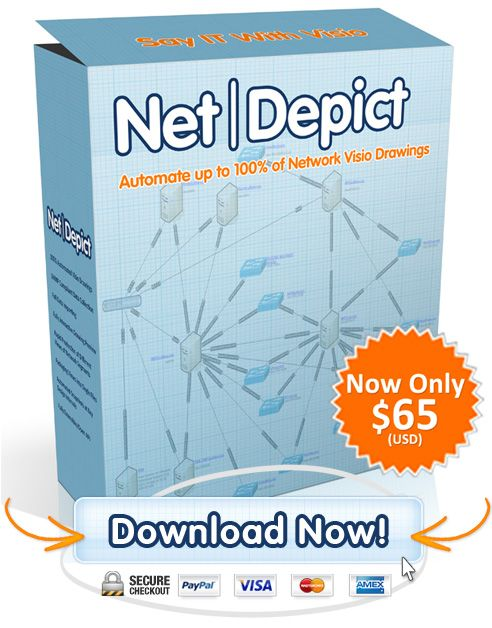 NetDepict - Automate up to 100% of Network Visio Drawings