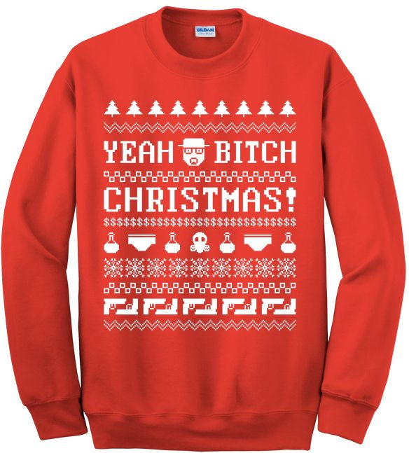 """You'll Want To Own This """"Breaking Bad"""" Christmas sweater"""