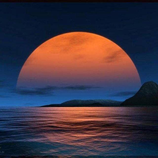 197 best images about Landscapes - Moon on Pinterest ...