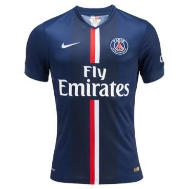 The 14/15 PSG Home Shirt...possibly the cleanest PSG kit I've ever seen.
