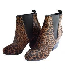Bottines & low boots à talons THE KOOPLES Imprimés animaliers