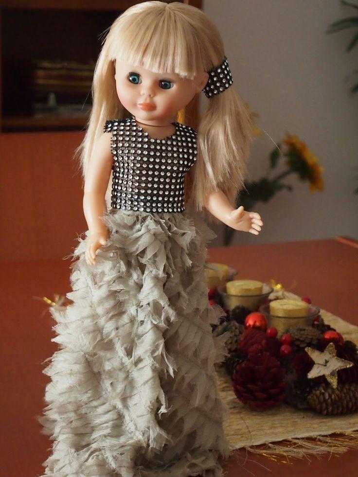 Pepa vestida de fiesta